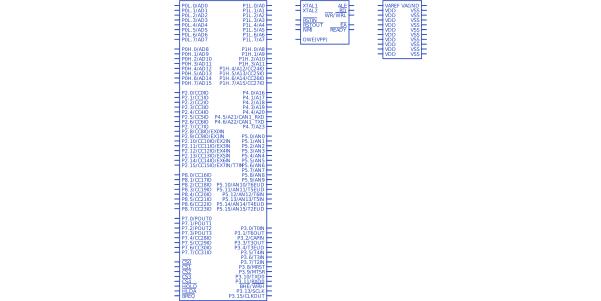 Datasheet) saf-c167 pdf 16-bit cmos microcontroller (1-page).
