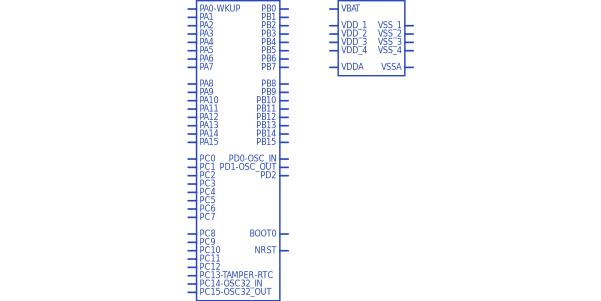 STMicroelectronics STM32F103RET6